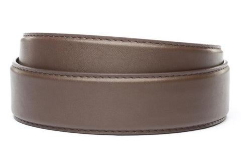 "XL 1.5"" Chocolate Microfiber Strap"
