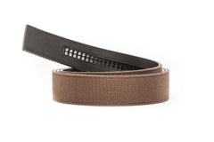"1.5"" Brown Canvas Strap"