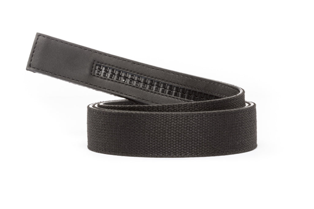 "1.5"" Black Canvas Strap"