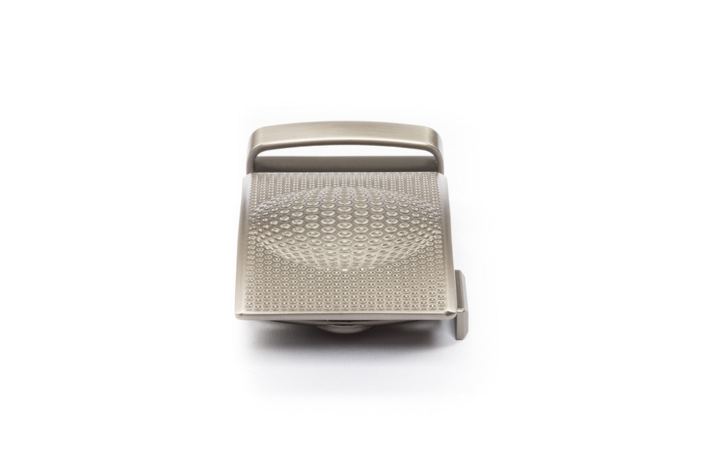 "1.5"" Anson Golf Buckle in Gunmetal"