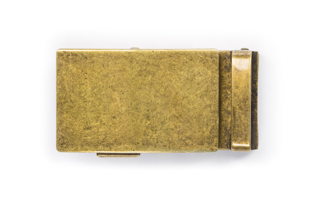 "1.5"" Classic Buckle in Antiqued Gold"
