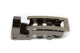 "1.25"" Traditional Buckle in Formal Gunmetal"