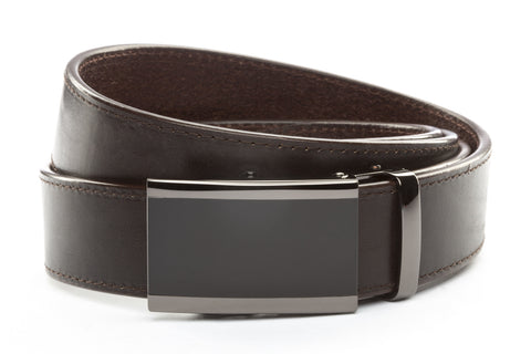 1-5-quot-onyx-buckle-in-smoked-gunmetal 1-5-quot-espresso-vegetable-tanned-leather-strap