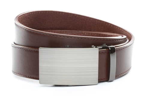 1-5-quot-classic-buckle-in-formal-gunmetal 1-5-quot-picante-vegetable-tanned-leather-strap