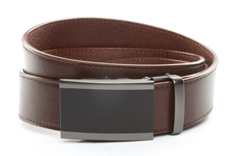 1-5-quot-onyx-buckle-in-matte-gunmetal 1-5-quot-picante-vegetable-tanned-leather-strap