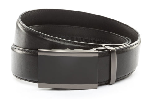 1-5-quot-onyx-buckle-in-matte-gunmetal 1-5-quot-black-leather-strap