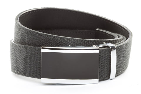 1-5-quot-onyx-buckle-in-silver 1-5-quot-graphite-canvas-strap