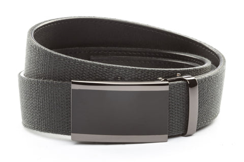 1-5-quot-onyx-buckle-in-smoked-gunmetal 1-5-quot-graphite-canvas-strap