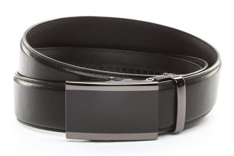 1-5-quot-onyx-buckle-in-smoked-gunmetal 1-5-quot-black-leather-strap