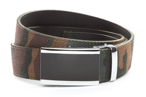 1-5-quot-onyx-buckle-in-silver 1-5-quot-camo-canvas-strap