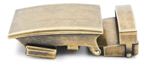 "1.25"" Classic Buckle in Antiqued Gold - Anson Belt & Buckle"