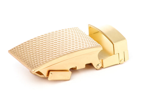 "1.25"" Anson Golf Buckle in Gold"