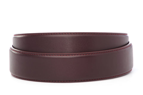"1.5"" Oxblood Leather Strap"