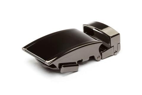 "**FACTORY SECOND** 1.25"" Onyx Buckle in Smoked Gunmetal - Anson Belt & Buckle"