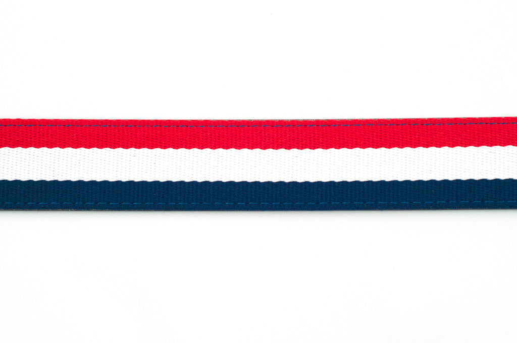 "1.25"" Red-White-Blue Cloth Strap"