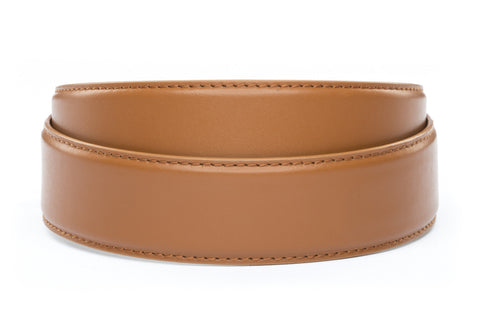 "1.5"" Saddle Tan Leather Strap - Anson Belt & Buckle"