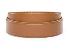 "1.5"" Saddle Tan Leather Strap"