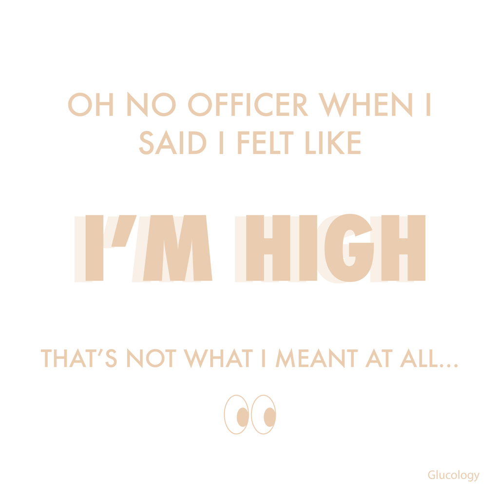 I feel like I'm high officer...