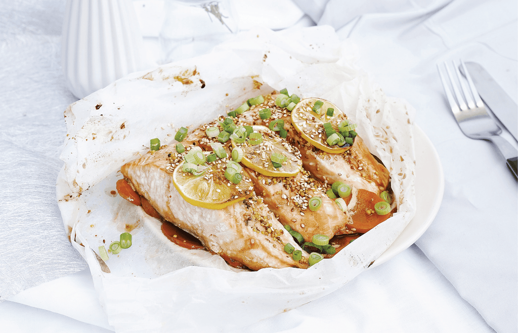 Baked Lemon Pepper Fish Parcels