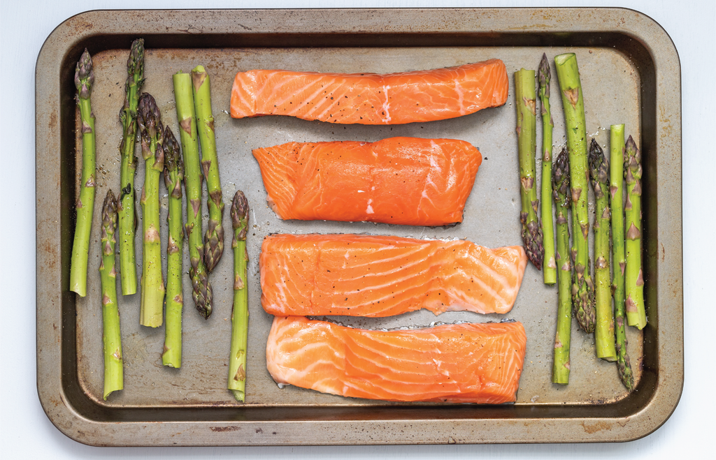 Herb Baked Salmon