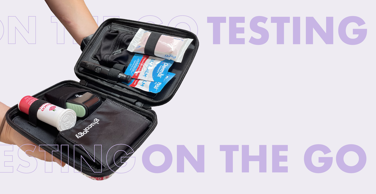 Glucology Diabetes Testing on the go