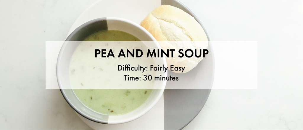 diabetes friendly recipes soup healthy lunch dinner peas mint