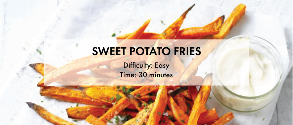sweet potato fries healthy snack diabetes recipes meal nutritious