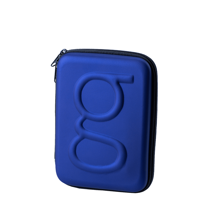 Glucology™ Diabetes Travel Case | Blue