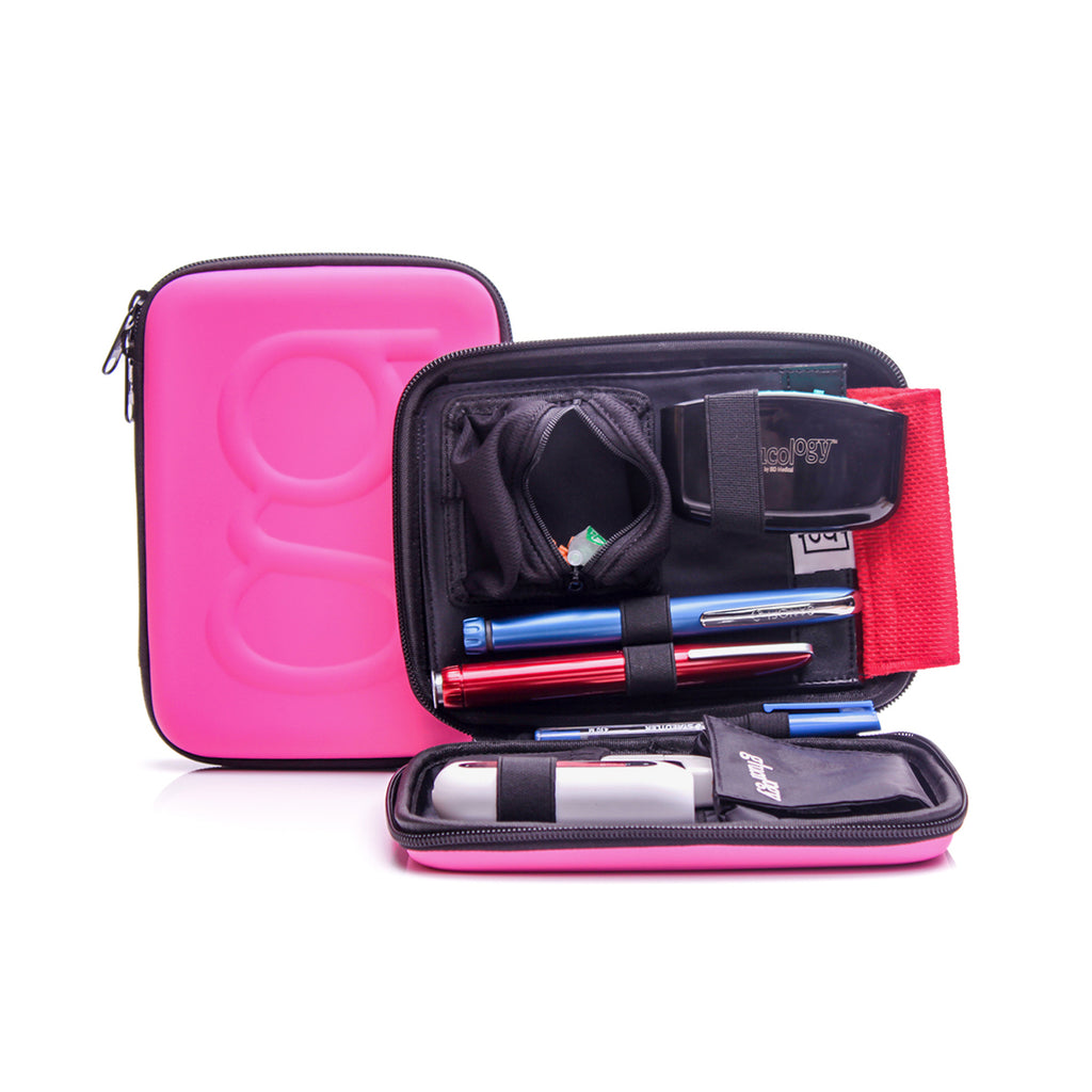 Glucology™ Diabetes Travel Case | Pink