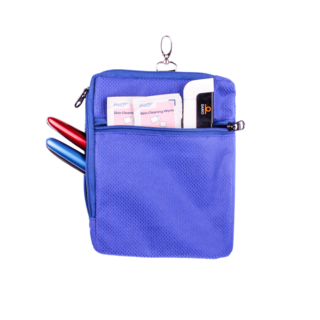 Glucology™ Zip Wallet | Extra Large 5 Pen Zip Wallet