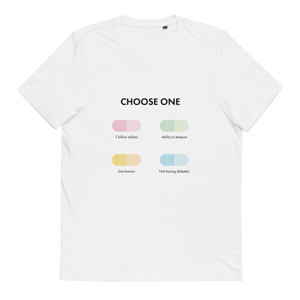 Diabetes Pill - Glucology™ Organic Cotton T-Shirt
