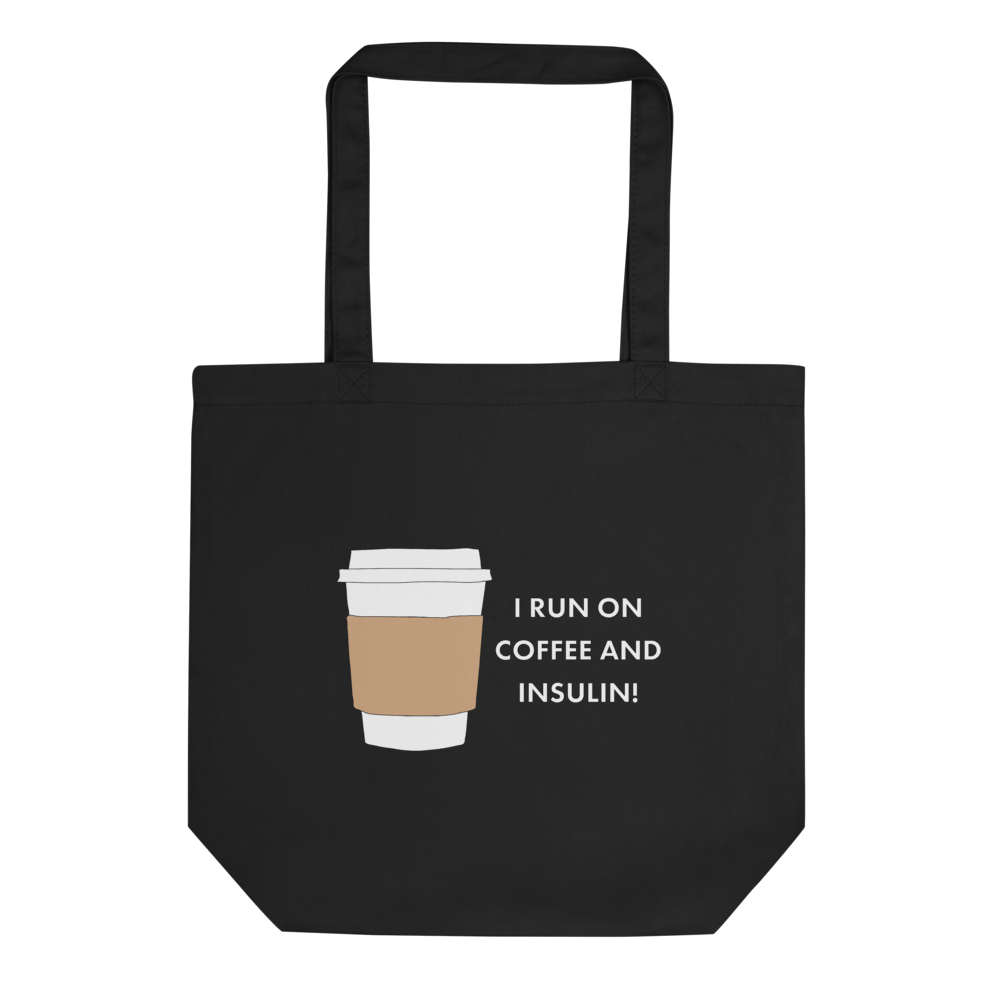 Coffee and Insulin Glucology™ Eco Tote Bag