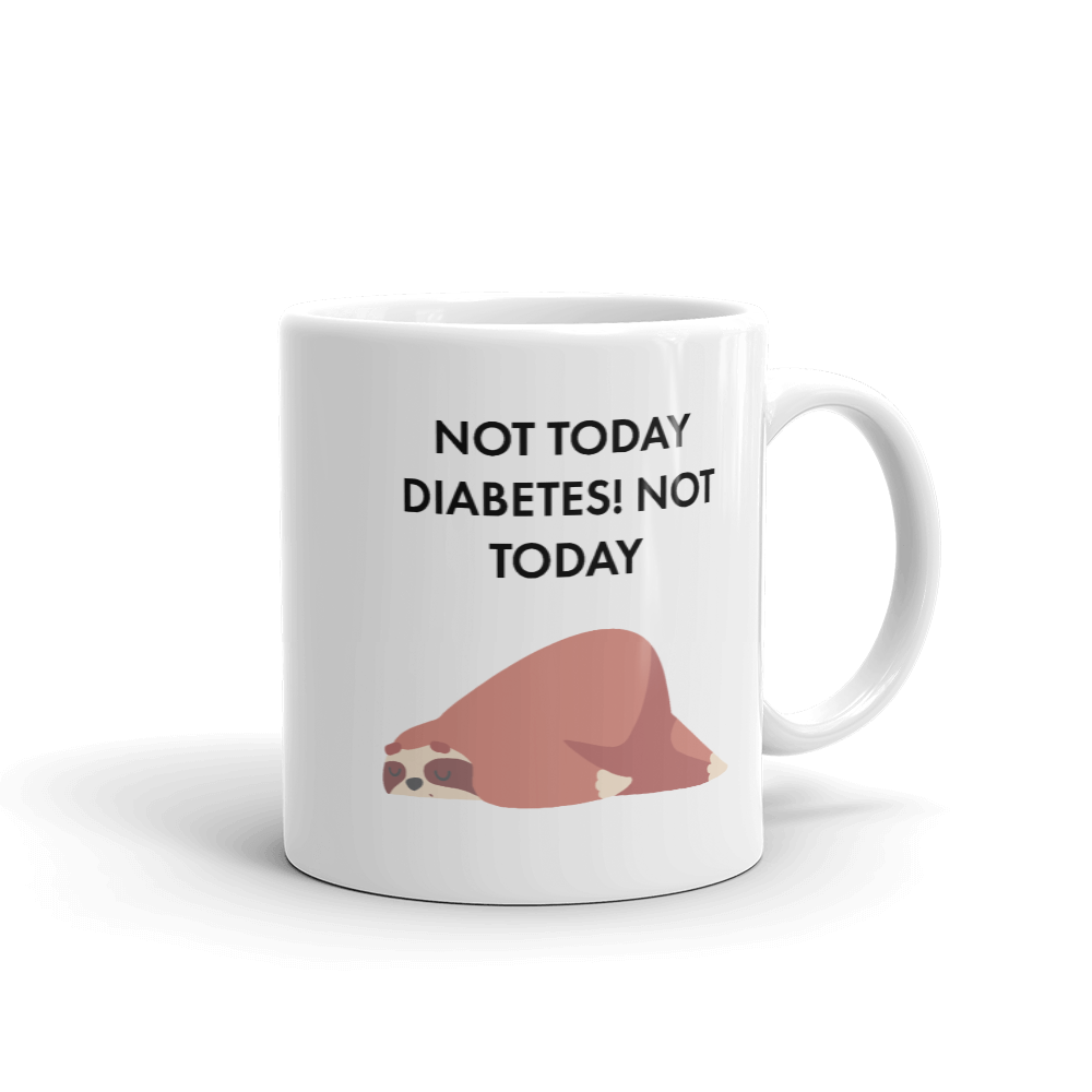 Not Today Diabetes Glucology™ Mug