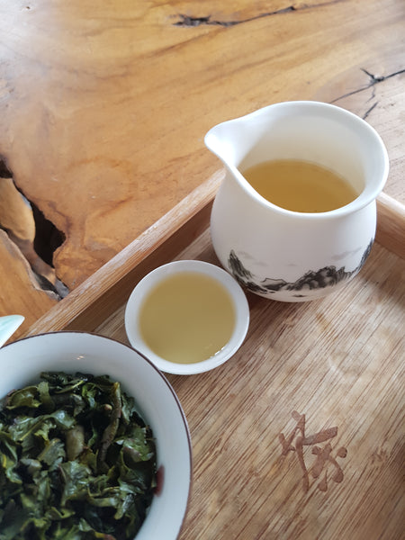 Organic High Mountain Tie Guan Yin Oolong 50g