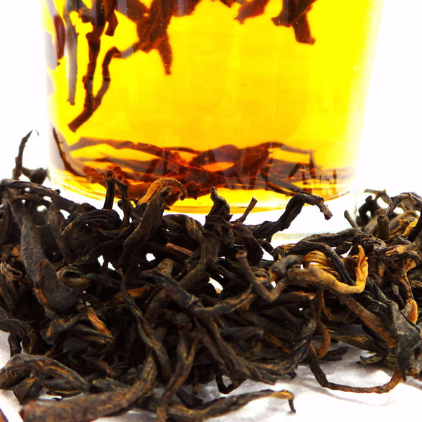 Orange Pekoe Wild YunNan Old Tea Tree Black Tea(滇紅工夫茶) 50g, 50-60 cups All Natural Tea