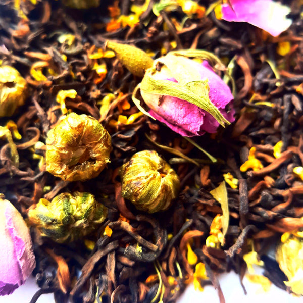 Super Aromatic Flowers Slim PuEr Tea *All Natural, No Artificial Flavors*