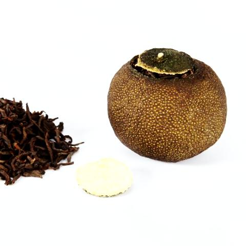 PuEr Tea In Mini Mandarin 50g (5 to 6 balls)