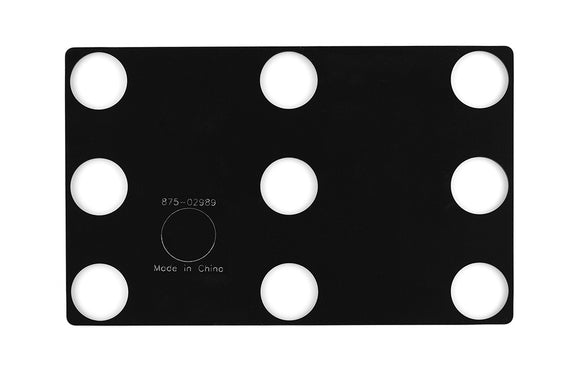 (Apple Part # 923-01317) Weight Placement Rubber Template, 3 pack