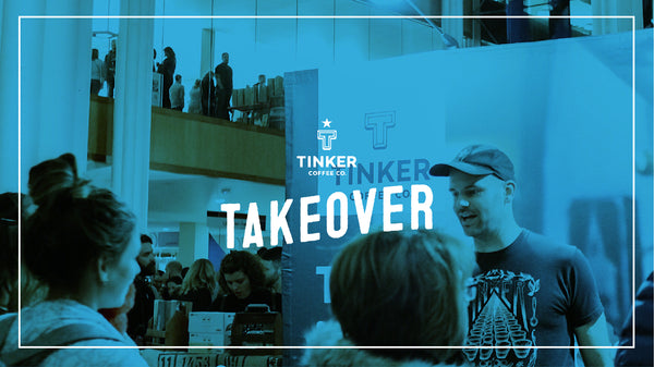 Tinker Coffee takes over Analog!
