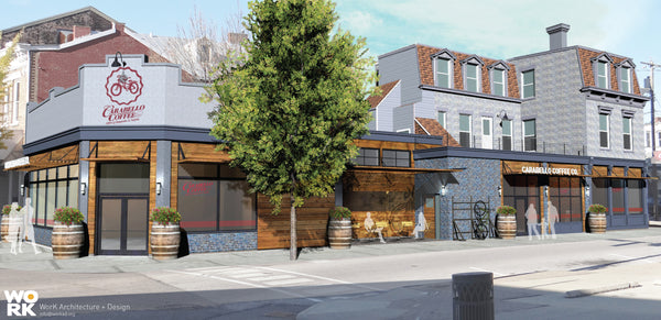 Conceptual Renderings of Proposed Carabello Coffee