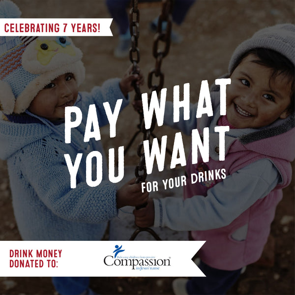 Virtual Pay What You Want Fundraiser-$1000