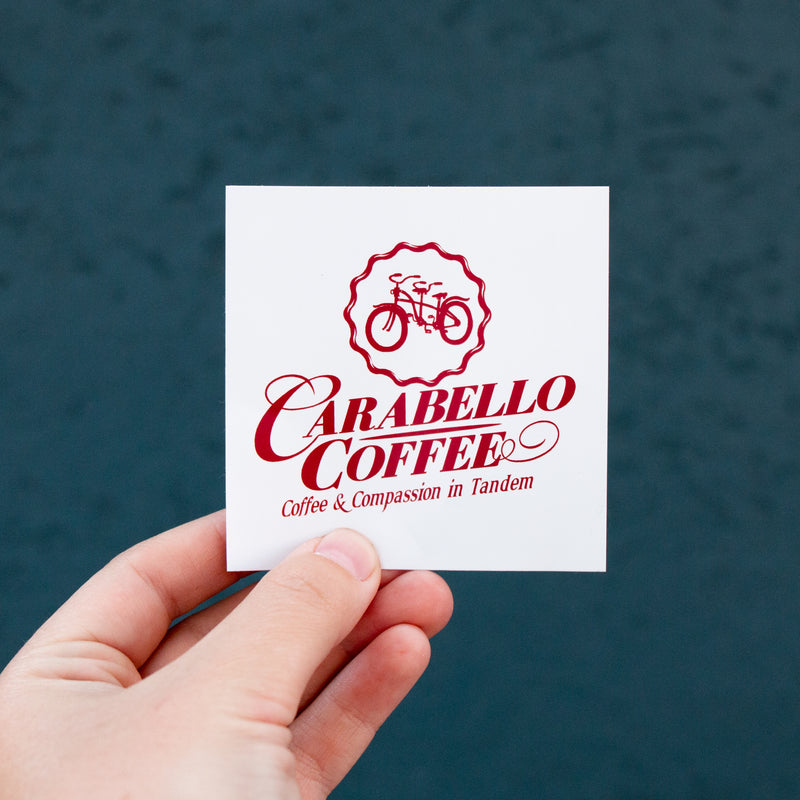Carabello Coffee Logo Sticker