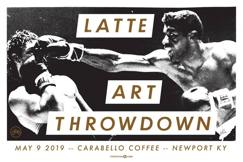 Latte Art Throwdown May 9th- Barista Sign Up
