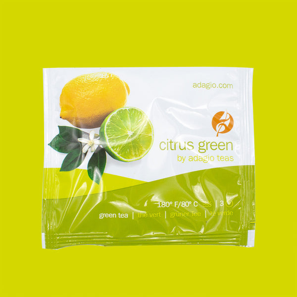 Adagio Citrus Green Sachet (15 pack)