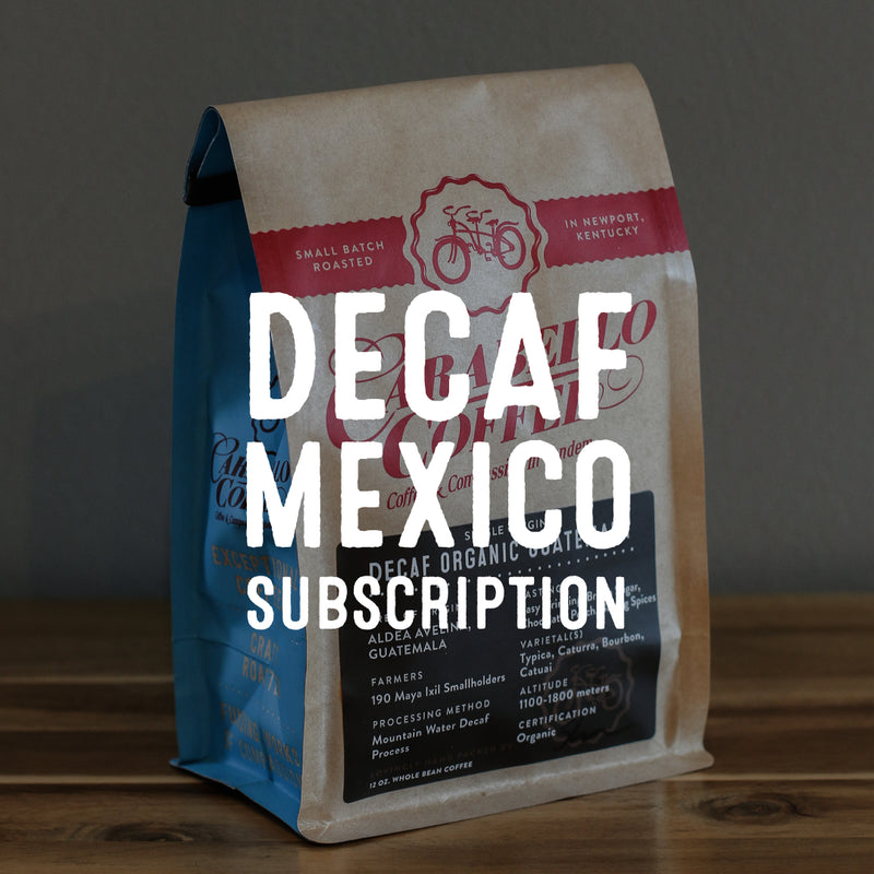 Decaf Organic Mexico Subscription
