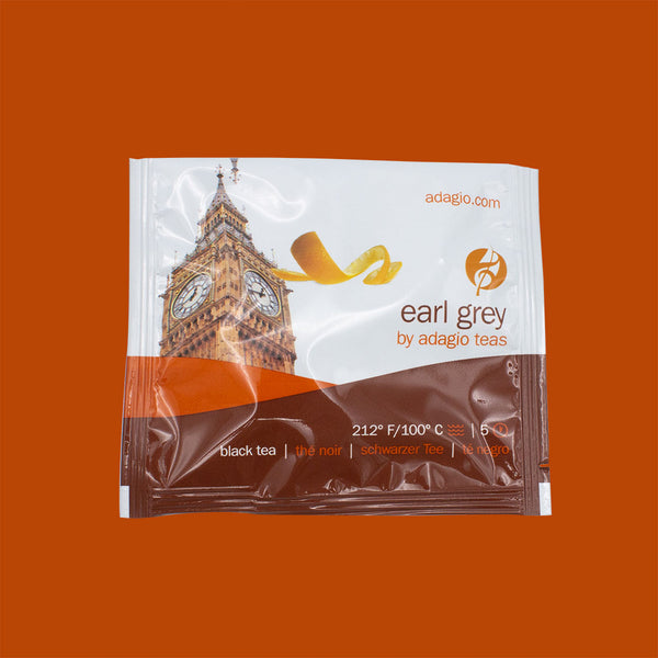 Adagio Earl Grey Tea Sachets (15 pack)