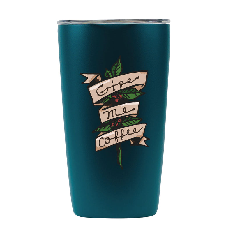 12oz Give Me Coffee Tumbler- Prismatic