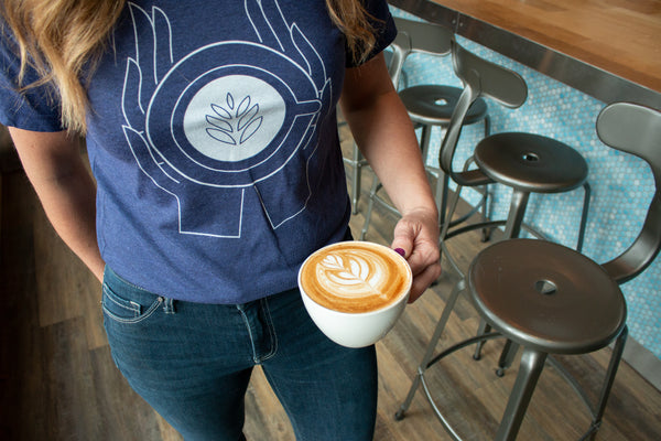 Latte art shirt