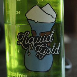 Liquid Gold Diecut Sticker
