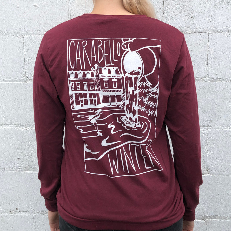 Carabello Winter Long Sleeve T-shirt- Two Color Options!